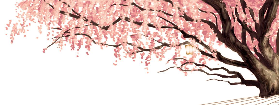 fig.2 画面右側の桜